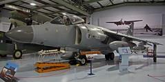XZ499 SEA HARRIER FLEET AIR ARM MUSEUM RNAS YEOVILTON (toowoomba surfer) Tags: museum aircraft aviation jet aeroplane vtol royalnavy aviationmuseum