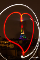 from paris with love (johandevantoy) Tags: from gay light en usa paris france tower love lesbian rainbow support tour with heart lumire arc tags eiffel coeur ciel lgbt homo 2016 effeil