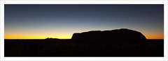The Sunset (zenboy) Tags: rock therock ayres ayresrock