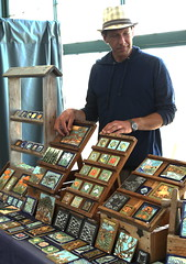 Ancient Hands Tile (beppesabatini) Tags: california richmond bayarea artsandcrafts kpfa craftsfair artsfair cranewaypavilion 941kpfa 2ndannualkpfasummerartsfair2016 kpfasummerartsfair