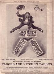 MONKEY BRAND (old school paul) Tags: vintage ads soap adverts 1896 monkeybrand
