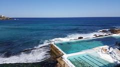 Bondi Baths (Ross Major) Tags: ocean new blue sea bondi wales pacific south australia baths nsw galaxys6