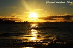 Pr do Sol em Barra Grande (Giovanni Tanajura Silva) Tags: paisagem mar mar onda sol oceano sea ocean bahia camamu marau prdosol peninsulademarau baiadecamamu entardecer