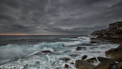 and find a quiet place (mark silva) Tags: ocean cloud clouds sunrise sydney australia nsw cronulla kurnell capesolander kamaybotanybaynationalpark