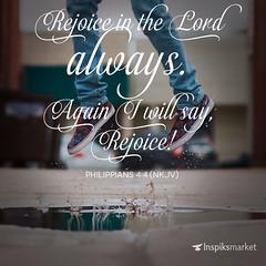 REJOICE IN THE LORD ALWAYS (godserv) Tags: church water rain happy jump peace ministry jesus joy lord christians rejoice praise godofpeace