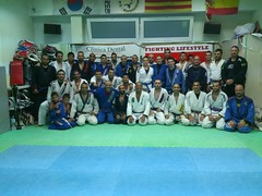 Seminario com o Mestre Royce Gracie Lenda Viva do jiu-Jitsu e UFC-Barcelona 16-7-2013