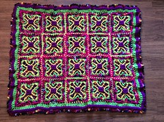Kathleen Miller (The Crochet Crowd) Tags: crochet mikey cal divadan crochetalong yarnspirations cathycunningham thecrochetcrowd michaelsellick danielzondervan freeafghanpattern mysteryafghancrochetalong freeafghanvideo caronsimplysoftyarn