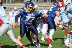 "RFL15 Assindia Cardinals vs. Bonn GameCocks 12.04.2015 081.jpg • <a style=""font-size:0.8em;"" href=""http://www.flickr.com/photos/64442770@N03/16939703919/"" target=""_blank"">View on Flickr</a>"