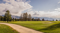 Golf Club (Jeton Bajrami) Tags: summer colour art club golf landscape perfect colours suisse couleurs swiss sony alpha paysage coloured 77 wallis couleur cransmontana valais color lightroom a77 2015 1650 switzerlans 1650mm
