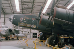 """Handley Page Halifax """"Friday the 13th"""" (Ronald_H) Tags: uk holiday film museum nikon aviation air yorkshire page halifax expired fridaythe13th handley elvington 2015"""