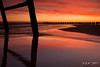 "Red In The Morning (""A.S.A."") Tags: silhouette sunrise dawn cleveland northsea northeast groyne daybreak hartlepool northeastcoast teeside canon1022 canon50d leefilters steetley steetleypier 09hardgrad"