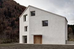 Особняк Haus in Mülbach в итальянских Альпах от Pedevilla Architects