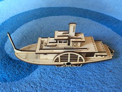 PS Adelaide (Figgles1) Tags: model paddle ps adelaide steamer mdf iphone echuca psadelaide img7143