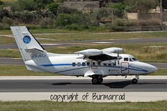 ZS-ATJ LMML 22-04-2015 (Burmarrad (Mark) Camenzuli Thank you for the 11.7) Tags: cn private aircraft airline let registration turbolet lmml l410uvpe 062636 zsatj 22042015