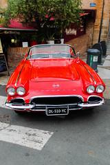 Corvette (xwattez) Tags: old france chevrolet car automobile voiture american transports tarn corvette albi ancienne 2015 véhicule rassemblement américaine autorétro