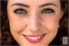 Casandra (Lucia Belen Capon) Tags: she portrait woman macro argentina beautiful photoshop 50mm book mujer eyes nikon good looks nikkor d90 profundidad