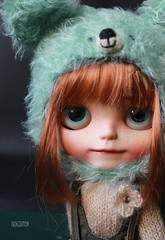 Iriscustom Ooak Blythe Art Doll Coockie