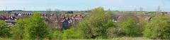 Yarm Viaduct Panorama 2 (Big Warby) Tags: uk bridge england riverside walk cleveland victorian viaduct footpath teesside yarm united valley great big river eaglescliffe david kingdom egglescliffe britain tees warburton warby tees bigwarby stocktonontees