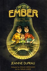 The City of Ember:  the Graphic Novel (Vernon Barford School Library) Tags: new city school fiction underground reading book high graphic library libraries reads cities teenagers books read paperback fantasy cover junior novel ember covers graphicnovel bookcover middle vernon recent bookcovers paperbacks graphicnovels novels fictional dystopia dystopian cityplanning messengers barford dystopias softcover fantasyfiction vernonbarford softcovers jeanneduprau dallasmiddaugh niklasasker 9780375968211