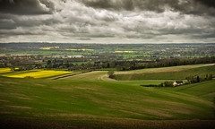 Godmersham Downs (John's taken it. recovering still a bit slow.) Tags: clouds downs landscape countryside kent fields godmersham beacheslandscapes