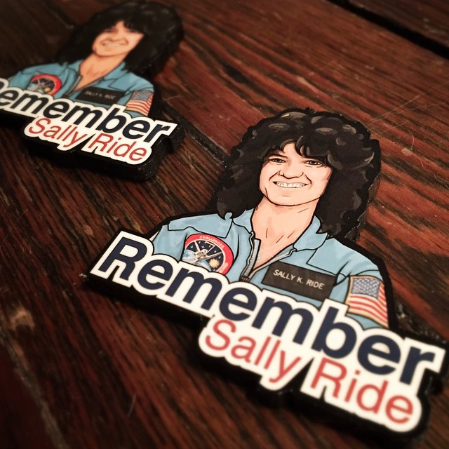 Remember SALLY RIDE