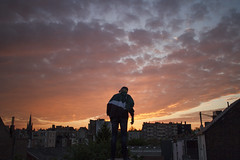 BRUSSELS (daniilzozulya) Tags: boy sunset brussels sky sun sunlight love youth clouds digital sunrise canon photography freedom friend young free bruxelles ciel ami amour