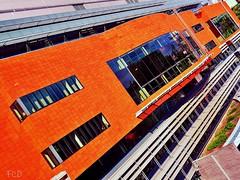 EU building - Brussels (FerRac) Tags: brussels european bruxelles social panasonic economic rue brussel cor committee offices premises regions committe belliard gm1 1232mm