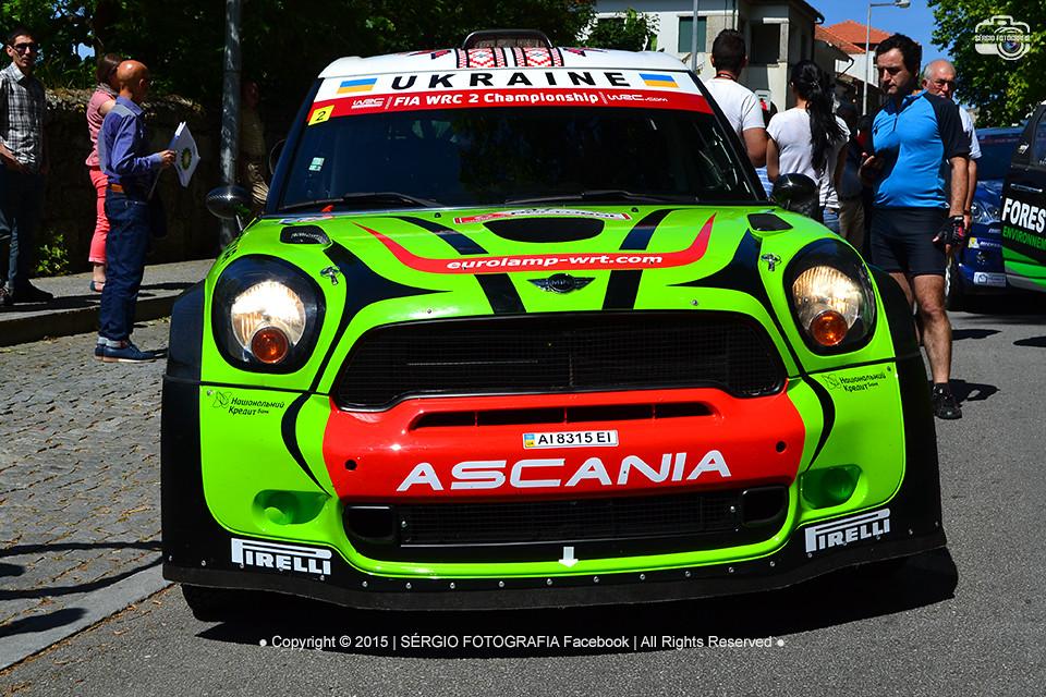 b12e8ab8f Valeriy Gorban / Volodymyr Korsia - BMW-Mini John Cooper Works - Vodafone Rally  de · Vodafone Rally de Portugal ...