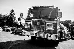 42nd_Brandon_Accident-9 (Pye42) Tags: seattle truck blackwhite washington accident firetruck westseattle vehicle sfd seattlefiredepartment