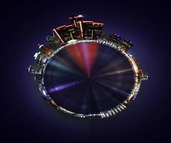 Detroit Waterfront (Shootingnikon) Tags: water landscape lights nikon detroit d7200