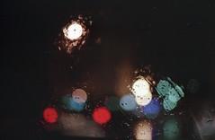 Rain - Film (Stefania Papagni) Tags: winter light film rain analog 35mm canon photography 50mm photo ae1 bokeh fotografia analogica analogic