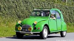 Citron 2CV 1978 (XBXG) Tags: auto old france holland green classic netherlands car mobile vintage french automobile nederland citron voiture 2cv 1978 frankrijk paysbas eend geit ancienne 2016 vijfhuizen 2pk 2cv6 citron2cv franaise deuche deudeuche citromobile citro 76va13