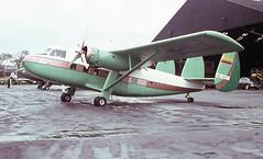 HC-AHT. Scottish Aviation Twin Pioneer Srs.1 (Ayronautica) Tags: june aviation scanned stol prestwick pik 1963 egpk hcaht scottishaviationtwinpioneersrs1