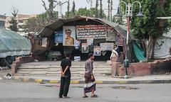 Saleh Supporter Camp (Kachangas) Tags: president unesco arabia yemen sanaa dictator oldcity saleh yemeni yemencivilwar