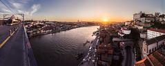 Porto from the bridge - Oporto desde el puente (tomasc75) Tags: bridge sunset panorama portugal rio river puente sony porto panoramica douro puestadesol oporto ribeira duero carlzeiss variotessar a7r domlusi donluisi alpha7r ilce7r fe1635mmf4zaoss sel1635z