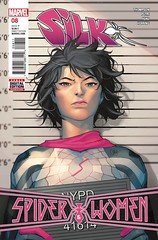 EXCLUSIVE Preview: Silk #8 (All-Comic.com) Tags: silk mockingbird preview spiderwoman blakccat robbiethompson cindymoon exclusivepreview ianherring tanaford allcomic