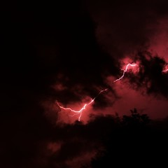 Stormy (zuul72) Tags: red cloud storm black night notte buio tempesta fulmine nuovole