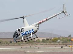 Robinson R44 II N441TX 'TV 3' (ChrisK48) Tags: aircraft helicopter dvt phoenixaz tv3 kdvt robinsonr44ii phoenixdeervalleyairport skyhelicoptersinc cn12521 n441tx