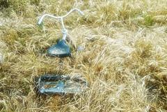 THRESHER IN THE RYE (akahawkeyefan) Tags: grass weeds tricycle kingsburg davemeyer