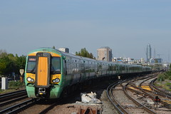 377459, Clapham Junction (JH Stokes) Tags: london photography transport tracks trains southern emu publictransport railways trainspotting claphamjunction class377 electricmultipleunits 377459