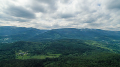 DJI_0063 (flyrecord) Tags: lake castle nature beautiful clouds giant landscape earth poland aerial polarized mountians aerialphotography karkonosze mountian drone djiglobal flyrecord