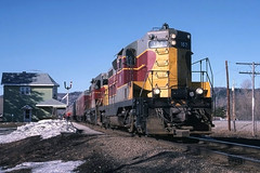 Train Time at Searchmont (ac1756) Tags: 2 ontario acr 167 searchmont emd gp7 algomacentral