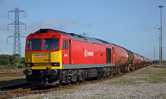 """60044 """"Dowlow"""" (MSRail Photography) Tags: freight 60 dbs petroleum class60"""