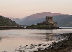 Eilean Donan Castle at sunset (Keith R Hunt (York)) Tags: castle scotland highlands eilean donan