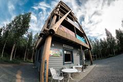 Kotaharjun nkalatorni (Tuomo Lindfors) Tags: tower suomi finland clarity fisheye dxo torni nktorni observationtower nkalatorni topazlabs filmpack sonkajrvi club16 kotaharju kotaharjunnkalatorni