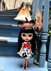Minnie Ready for Club 33