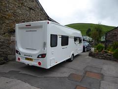Caravaning - The Quiet Site , nr Ullswater , Cumbria . (mr.pants1) Tags: major sprite caravan touring towing audia4quattro thequietsite