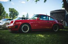 Porsche 930 Turbo (eric.vanryswyk) Tags: show trees canada field grass car june skyline 35mm lights nikon nissan okanagan wheels 911 automotive columbia turbo porsche shade british f2 kelowna nikkor r33 datsun 930 gtr r32 996 991 993 997 964 r34 2016 d610 r35