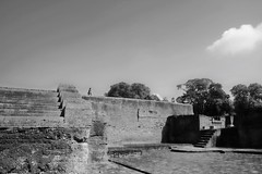 once upon a time (ababh) Tags: india bihar nalanda nalandauniversity ruin abandoned remains fragment shadowplay
