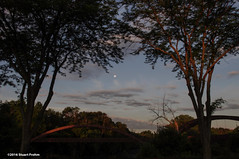 """Morning Moon Over The Tridge • <a style=""""font-size:0.8em;"""" href=""""http://www.flickr.com/photos/26989598@N08/27765625921/"""" target=""""_blank"""">View on Flickr</a>"""